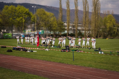 2014.04.15  Aktive Heimspiel vs. Basel Meanmachine